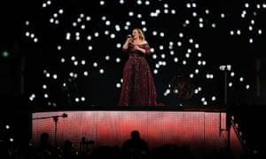 Adele in Sydney.
