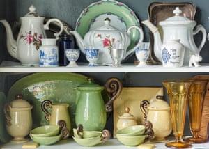 Ceramics bought on honeymoon in St Tropez.