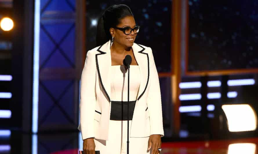 Oprah Winfrey pictured in September 2017 during the Emmys in Los Angeles.