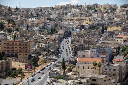 Downtown Amman in Jordan.