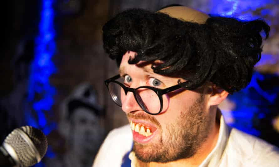 John Kearns performs Don't Worry They're Here.