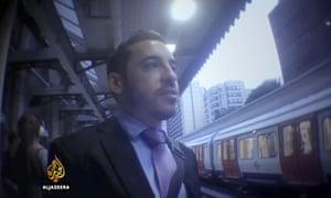 Israeli diplomat Shai Masot as filmed by al-Jezeera's undercover investigation