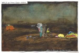 Martin Rowson cartoon 13.01.2018