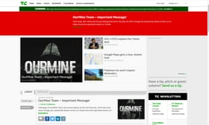 TechCrunch attacked by hacking group OurMine.