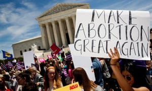 'Boldly supporting a women's right to legal abortion is a winning strategy for Democrats on the road to the White House.'