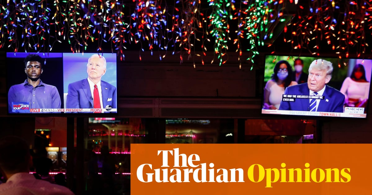 Trump and Biden town halls: two channels two candidates two planets – The Guardian