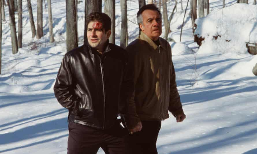 If you go down to the woods today ... Christopher and Paulie in the Pine Barrens.