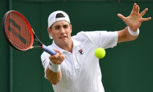 John Isner returns to Stefanos Tsitsipas