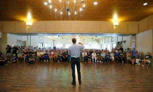 Beto O'Rourke has drawn crowds across Texas's 254 counties.