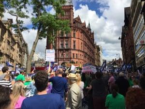 Teachers strike protests
