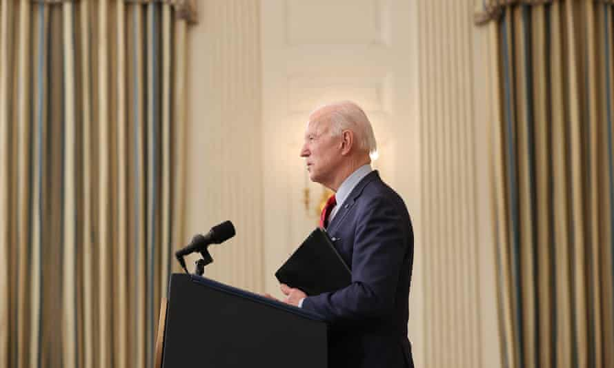 Biden has framed this unprecedented transition as a glorious economic opportunity.