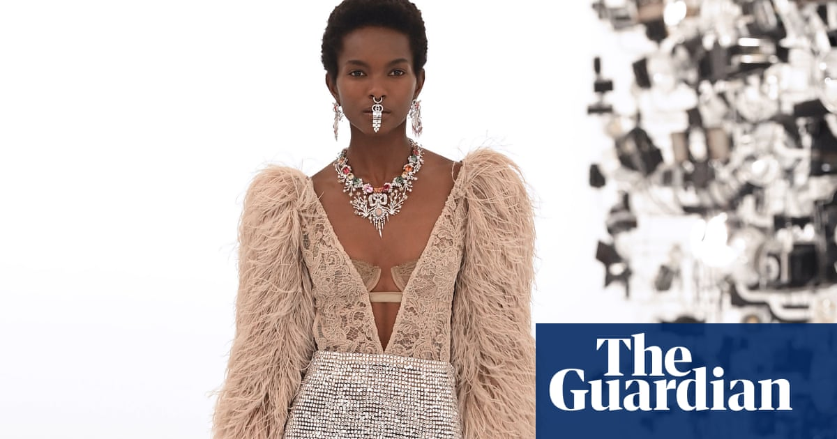 Nose rings and plenty of glitter: Gucci show reveals 'dialogue with otherness'