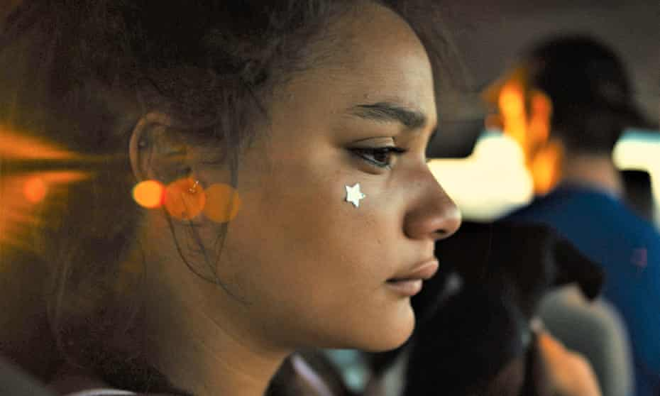 'Andrea Arnold shoots so close that her characters expand' ... Sasha Lane as Star in American Honey.
