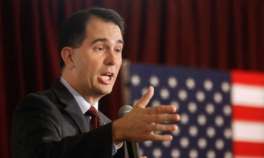Scott Walker is expected to call for wide restrictions on US organized labor.