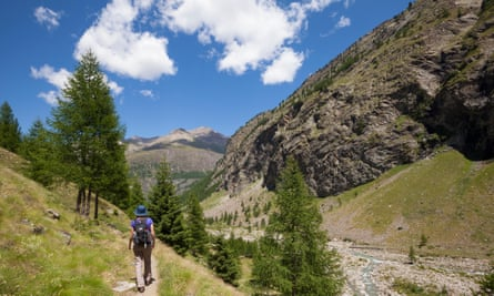Hiking in the Aosta Valley