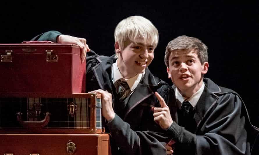 Anthony Boyle (Scorpius Malfoy) and Sam Clemmett.