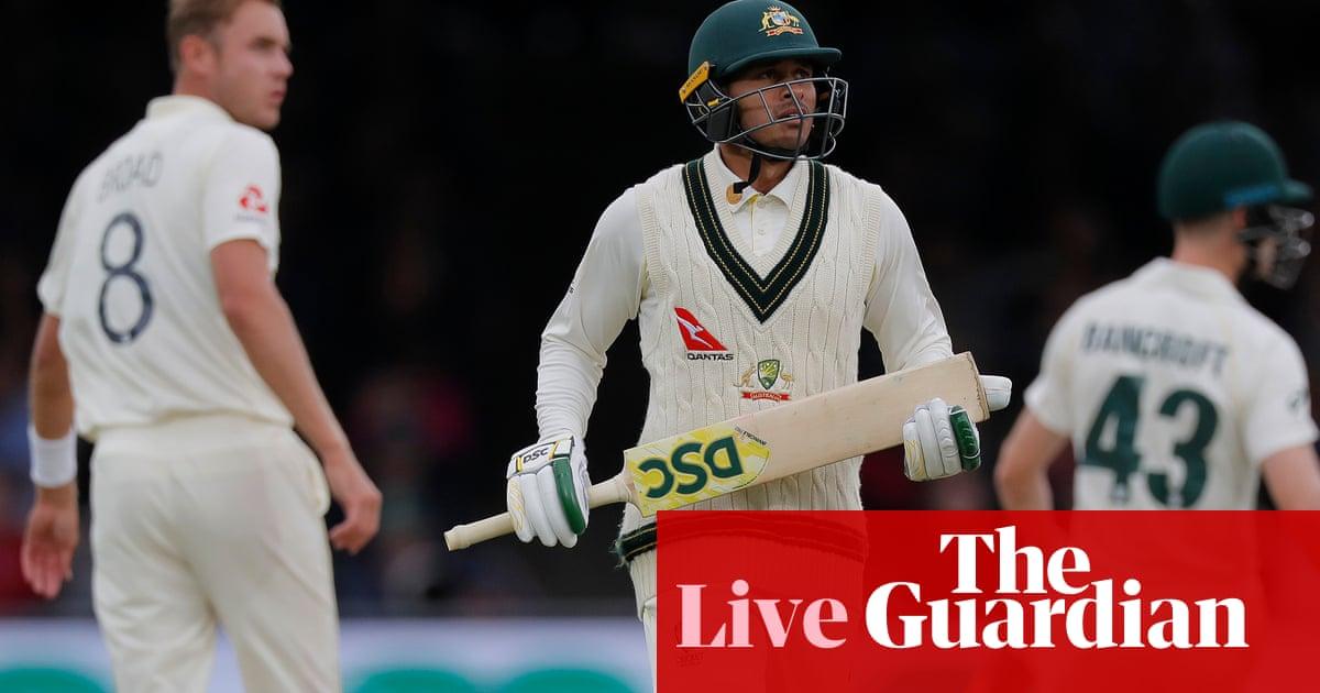 Ashes 2019: England v Australia second Test, day three – live