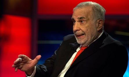 Carl Icahn in 2014.