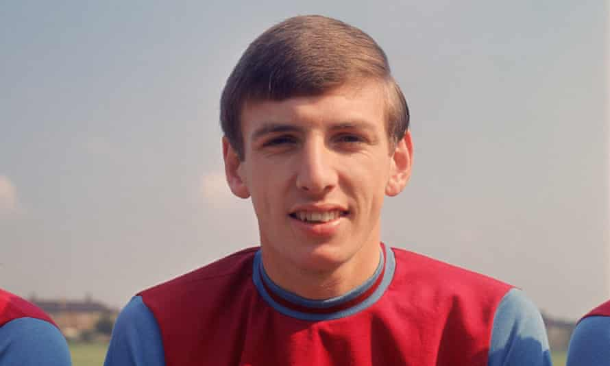 Martin Peters pictured with West Ham in August 1966.