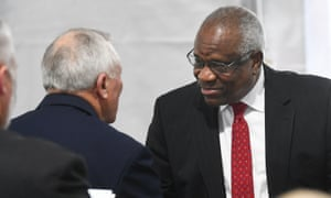 Clarence Thomas on 11 February 2020 in Atlanta.