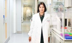 Professor Nazneen Rahman CBE, head of genetics, Institute of Cancer Research and The Royal Marsden Hospital