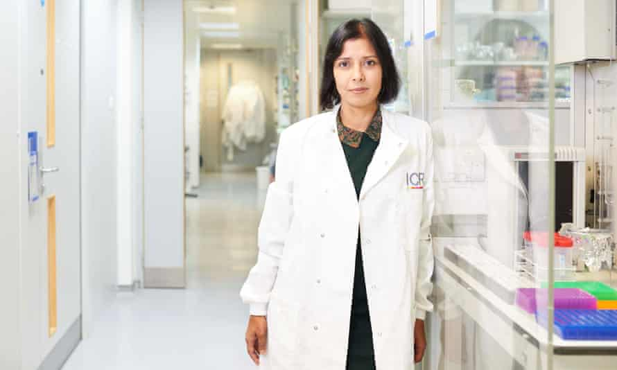 Professor Nazneen Rahman CBE, head of genetics, Institute of Cancer Research and The Royal Marsden Hospital