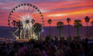Coachella scene