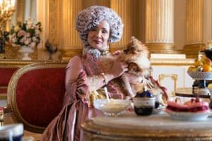 Queen Charlotte (Golda Rosheuvel).