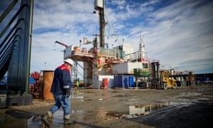 Cuadrilla's drilling rig