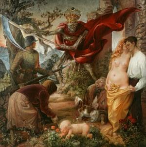'Macabre allegory': Otto Dix's The Triumph of Death (1934).
