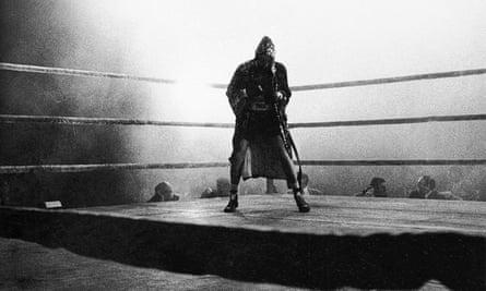 Compelling ... Robert De Niro as Jake LaMotta in Raging Bull.