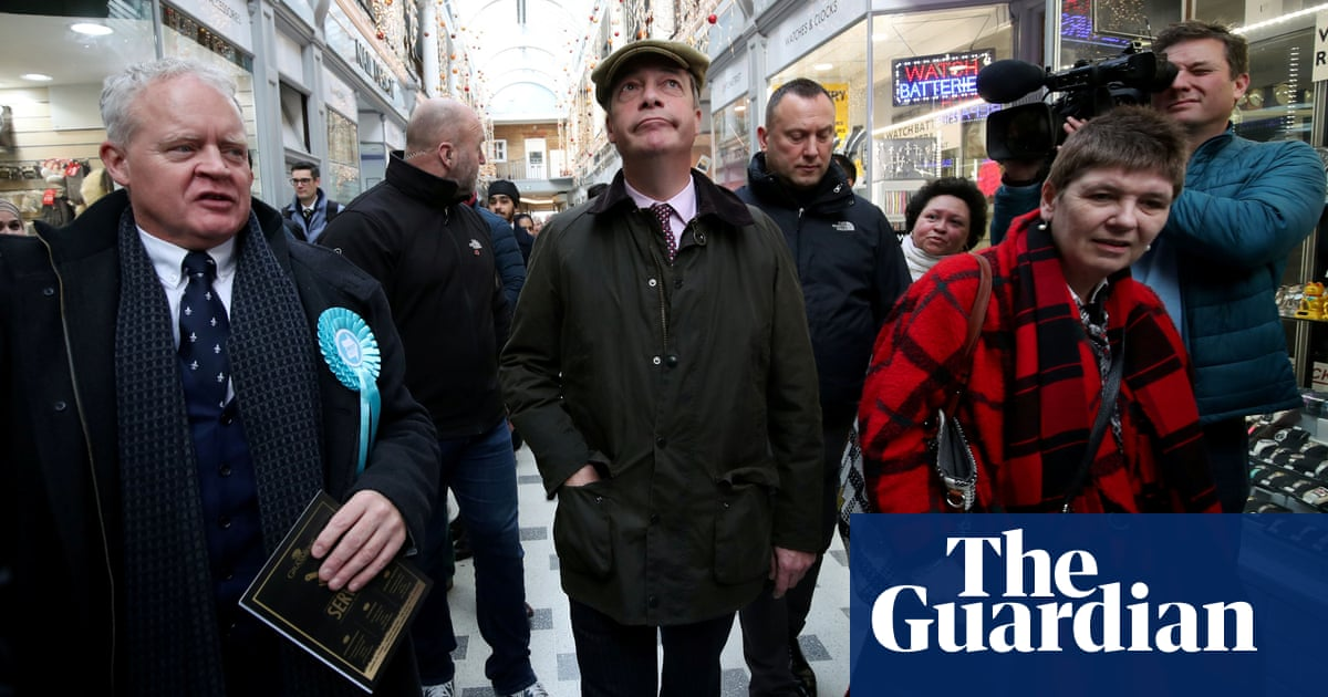 Brexit party investigated over data on voters
