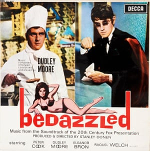 Bedazzled Bedazzled was a great 1967 Stanley Donen film. Dudley Moore was an incredibly talented arranger and Decca released many of his straightforward jazz albums. This album was a soundtrack to this film, with both Moore and Peter Cooke doing some singing