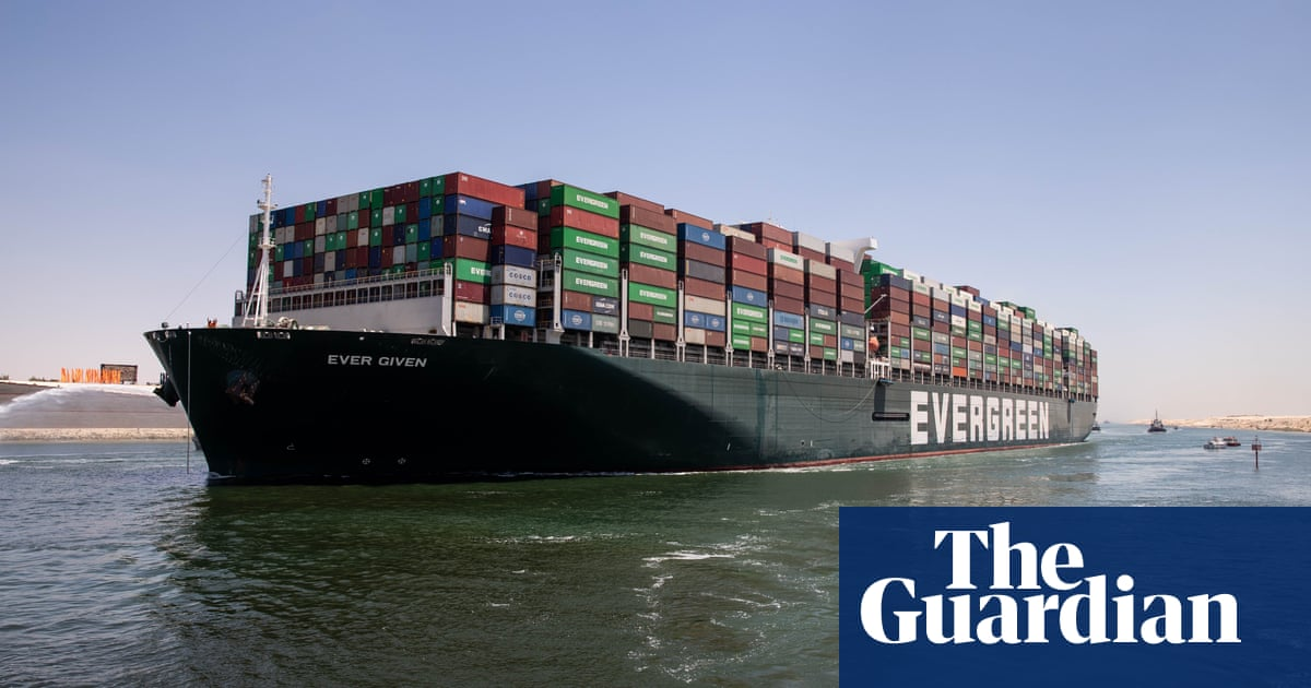 Ever Given released from Suez canal after compensation agreed