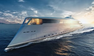 The 'Aqua' superyacht powered by liquid hydrogen