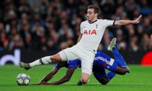 Harry Winks has formed a double pivot with Eric Dier in José Mourinho's first two matches in charge of Spurs.