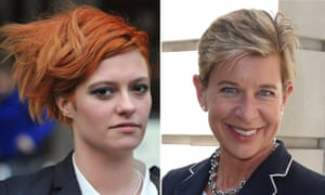 Jack Monroe and Katie Hopkins.