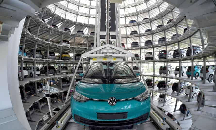 Volkswagen said it cannot rule out further changes to its production line, such as this one in Dresden for the electric ID.3.