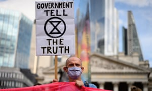XR argue much of the rightwing press, owned by a handful of billionaires, have played a key role in downplaying the climate crisis.