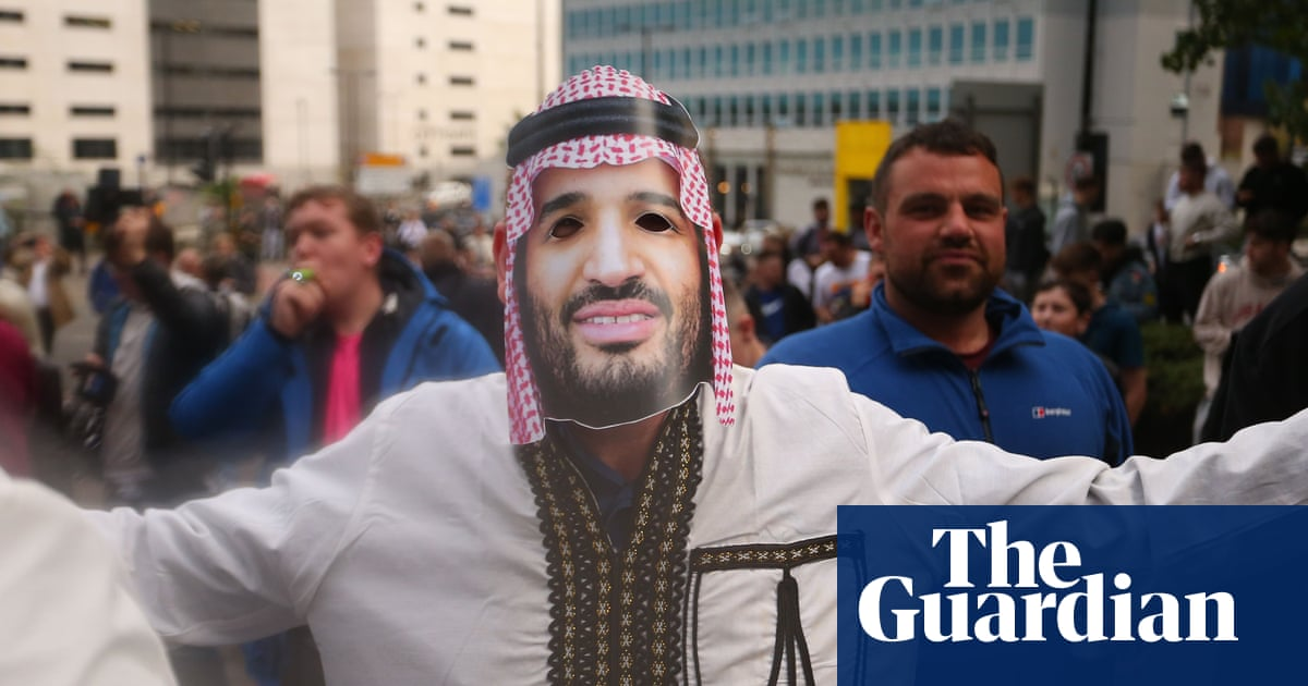 'English football will sell itself to anyone': human rights groups on Saudi-Newcastle deal