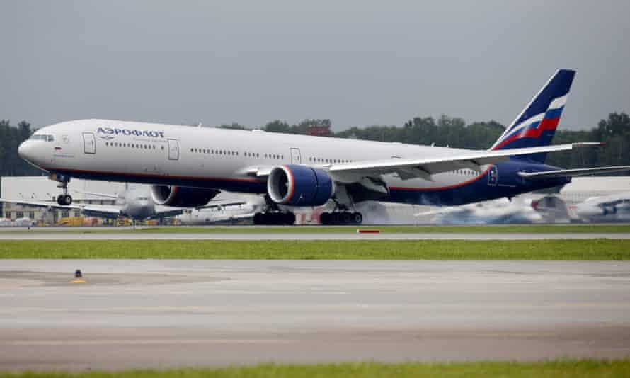 An Aeroflot Boeing 777