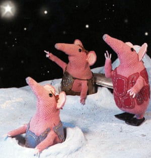 The Clangers from the TV series