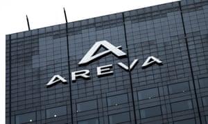 Areva company headquarters in Paris