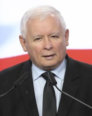 Jarosław Kaczyński, leader of Poland's PiS party