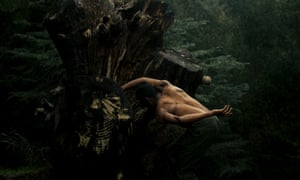 Into the trees … a still from the film Dance of Malaga.
