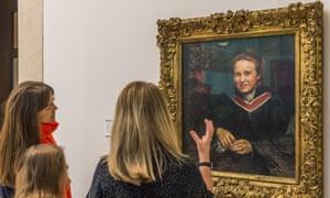 The Millicent Fawcett portrait at Tate Britain.