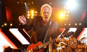 Lindsey Buckingham of Fleetwood Mac performs onstage during MusiCares Person of the Year honoring Fleetwood Mac at Radio City Music Hall in January.