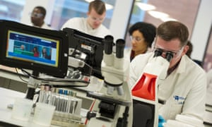 4) Outstanding facilities support 14 world-leading research centres.