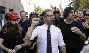 Gavin McInnes, founder of the far-right group Proud Boys, in Berkeley, California on 27 April 2017.