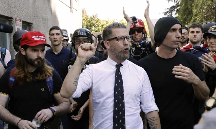 The Proud Boys were founded in 2016 by Canadian Gavin McInnes, a co-founder of Vice magazine.